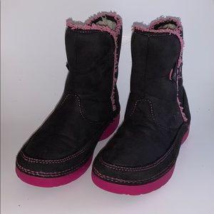 Girls Crocs Boots Sz 1